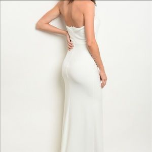 Classic Strapless Formal Gown